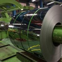 Quality 430 BA Mirror Stainless Steel Strip Roll , ASTM 304 430 420 316L Aisi Steel Strip Coil 0.3mm-3mm for sale