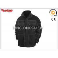 6 Pocket Cotton Work Jacket Industrial Construction Safety Clothing For Autumn