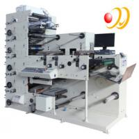 Quality 3 Phase 380V 50HZ 5 Color Flexographic Printing Machine With Uv Aire for sale