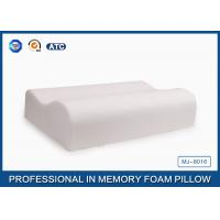 Buy cheap Custom Bamboo Fiber Contour Sleep Design Memory Foam Pillow For Hotel / Bedroom from Wholesalers