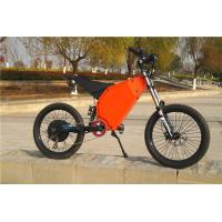 Off Road Riding High Power Electric Bicycle 48v 1500w With Full Suspension