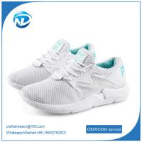 Quality new design shoes comfortable soft breathable women running sports flying shoes for sale