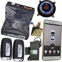 Quality Online Gps Gprs Tracking System Smartphone Car Alarm Cell Phone Remote Car Starter for sale