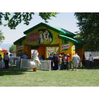 Knorr Inflatable Booth For Promotion , Advertising Inflatables Showing Booth