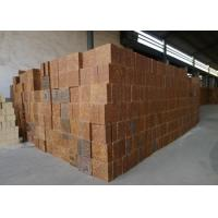 Buy Mullite Silica Refractory Bricks Bauxite Chamotte Material Brown Color For Cement Kiln at wholesale prices