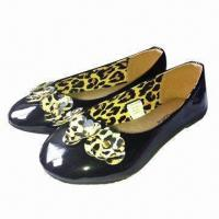 Quality Children's PU shoes, available in various designs for sale