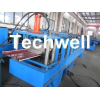 Quality Automatic Standing Seam Profiles Roof Roll Forming Machine For Material Thickness 0.5-1.2mm for sale