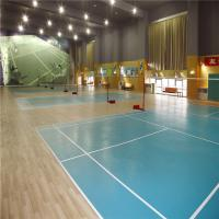 Indoor durable pvc badminton sports flooring for sale for Indoor basketball flooring prices