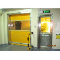 Quality Industrial 304 Stainless Steel High Speed PVC Rolling Door Internal / External Area for sale