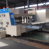 Quality Electric Print And Die Cut Machine , Automatic Printer Slotter Machine for sale