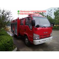 Buy 3.5ton ISUZU water tank fire truck Philippines at wholesale prices