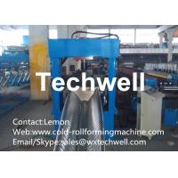 Quality Galvanized Steel Large Span Roll Forming Machine For Arched Roof Panel With PLC Touch Screen Control for sale