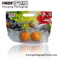 Quality Flexible Fresh Fruit Packaging Bags , Heat - Sealed Stand Up Ziplock Plastic Bags for sale
