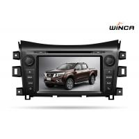 Quality NISSAN Navara 2016 Nissan Head Unit , 8 Inch Touch Screen Nissan Navigation System for sale