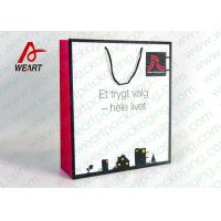 Buy Personalized 200gsm Matt Art Paper Bags For Wedding Party Customer Service at wholesale prices