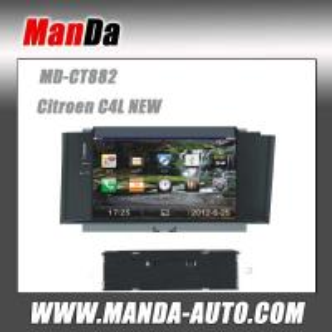 Quality 3G Car DVD autoradio gps for Citroen C4L NEW for sale