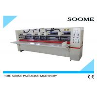 Quality Offline Electrical Thin Blade Slitter Scorer , Corrugated Cardboard Cutting Machine Precreaser for sale