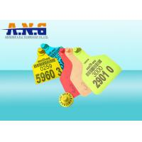 Buy cheap Coding Printing Animal UHF Rfid Tags Waterproof 860 - 960 Mhz With Higgs 3 Chip from wholesalers