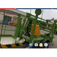 Buy cheap Trailer 10 M Diesel Explosion Proof Hydraulic Lifting Platform Electric Articulated Boom Lift from Wholesalers
