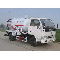 Quality High Efficient Special Purpose Vehicles , Sewage Pump Truck For City Environment Protection for sale