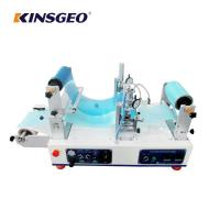 Quality 1200×620×550mm Size 4.5m/min Speed Continuous Hotmelt Coating Laminating Machine Easy Install for sale