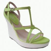 Quality 2012 Ladies' Sandals, Insole and Outsole made of Rubber, Also Available in Blue for sale