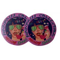 Quality Round Custom Shining Coated Labels Hang Tags , labels hang tags for sale