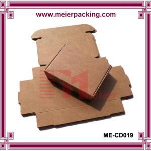 China Custom Made Folding Kraft Paper Boxes Printing Wholesale, Kraft Paper Gift Box ME-CD019 on sale
