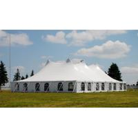 Quality High Strength White PVC Tarpaulin Tent for Exhibition or Wedding Events for sale
