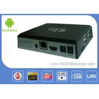 Quality CTN Quad Core Android Smart IPTV Box XBMC With Google Media Player for sale
