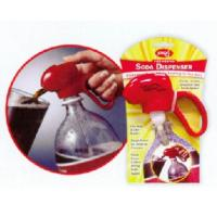 China soda dispenser/Jokari RED Soda Dispenser & Fizz Keeper 2 liter Pop Bottles Great for Bar & Kids on sale