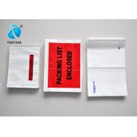 Buy cheap Recyclable Mailing packing list enclosed pouches tear resistance from Wholesalers