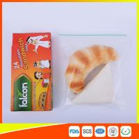 Buy cheap FDA Approved Clear Small Plastic Zip Lock Bags For Sandwich Moisture Proof from Wholesalers