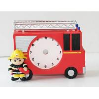China Polyresin Table Clock on sale