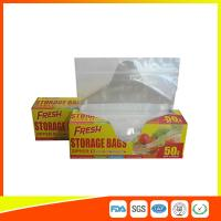 Buy cheap Food Preservation Freezer Zip Lock Bags Reusable For Home / Supermarket Use from Wholesalers