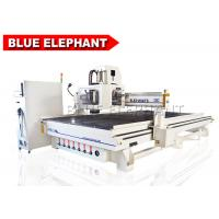 Quality ELE 2140 atc cnc cabinet processing machine with 9kw hsd air cooling automatic tool change spindle for sale