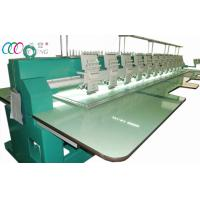 Quality 12 Heads 9 Needles Flat Embroidery Machine , 110V / 220V for sale