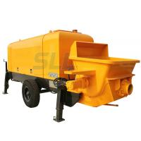 Buy Mini Hydraulic Concrete Mixer Pump , Trailer Mounted Electric Concrete Pump at wholesale prices