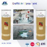 Quality 400ml Canned Environmental Fast Drying Graffiti Spray Art Paint for Artist On Metal Wood for sale