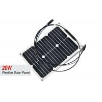 Small 20 Watt Semi Flexible Solar Panels For Sailboats RV Marine