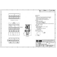Buy F75-D-5.08 Pitch 5.08mm Head for Pluggable Terminal Blocks Connector at wholesale prices