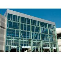 Quality Wind Pressure Aluminium Alloy Curtain Wall With Low-E Glaess For Large Building for sale