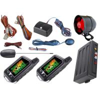 Quality Remote Keyless Entry Auto Car Alarm System With Shock Sensor Alarm Trigger for sale