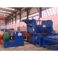 Quality Stainess Steel Pre Painted Cut To Length Machine Uncoiling Leveling Coil Cutting Machine for sale