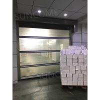 Quality Wind Resistance Industrial Automatic High Speed Door 1.2mm PVC Curtain Thickness for sale