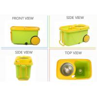 Buy KXY-FTX 360 spin mop with wheels at wholesale prices