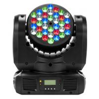 Quality DMX512 4in1 18pcs color changing professional led stage lighting 180W 50 / 60Hz for sale