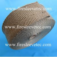 Quality LAVA rock fiber Exhaust manifold thermal wrap for sale