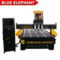 Quality Blue Elephant Furniture Multi Head Cnc Router Mold Making Machine Looking for Agent for sale