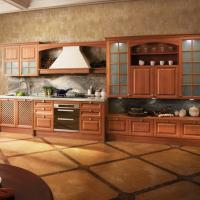Quality Customized Color Particle Board Kitchen Cabinets For Residential Decorating Furniture for sale